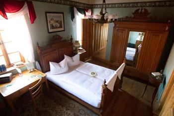 Im Goethezimmer können Sie übernachten wie einst der Geheimrat Johann Wolfgang von Goethe